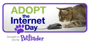 Petfinder's Adopt the Internet Day