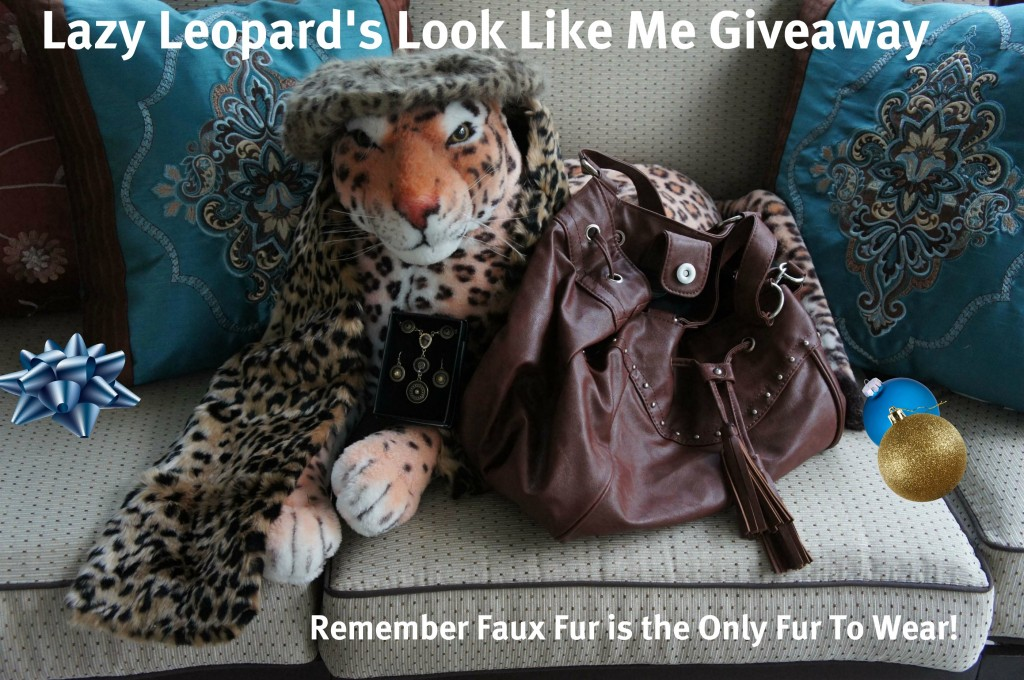 Lazy Leopard's Look Like Me Giveaway