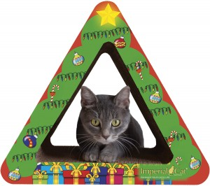 Imperial Cat Triangle Tree Scratch'n Shapes