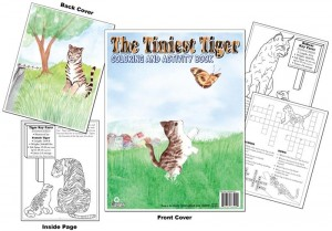 The Tiniest Tiger Coloring Book