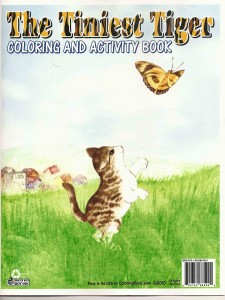 The Tiniest Tiger Coloring and Activity Book