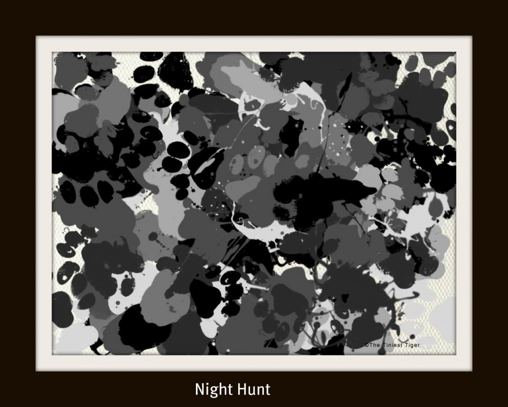 Night Hunt painting by The Tiniest Tiger