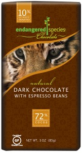 Endangered Species Chocolate Tiger Bar