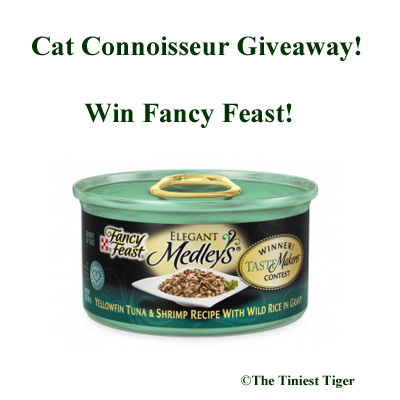 Fancy Feast Giveaway