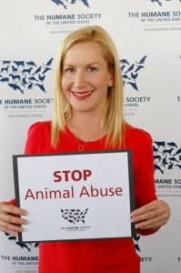 HSUS Angela Kinsey of The Office