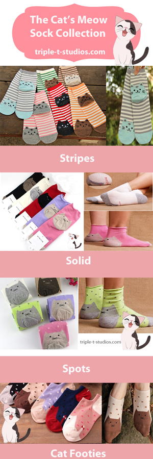 cat's Meow Sock Collection
