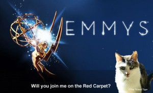 Emmy logo with Gracey, The Tiniest Tiger