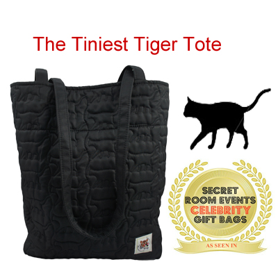 The Tiniest Tiger Tote by Triple T Studios