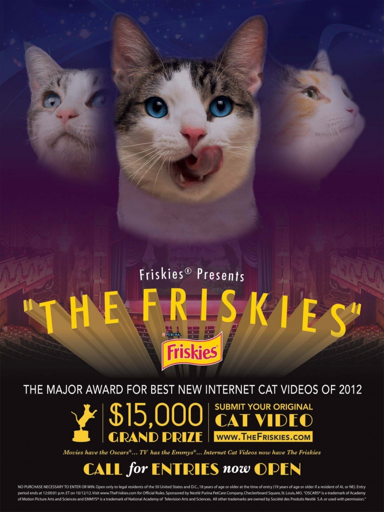The Friskies Internet Cat Video Contest
