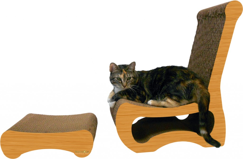 Imperial Cat Chair and Ottoman