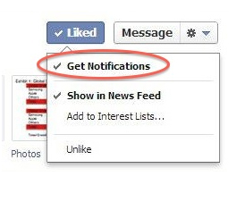 get notification page