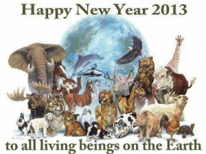 Happy New Year 2013 global Awakening