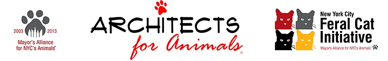 Logo for Architects for Animals