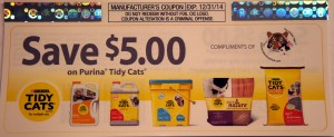 Tidy Cats Coupon