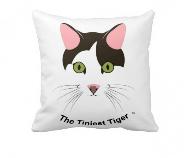 TTT Throw Pillow Back