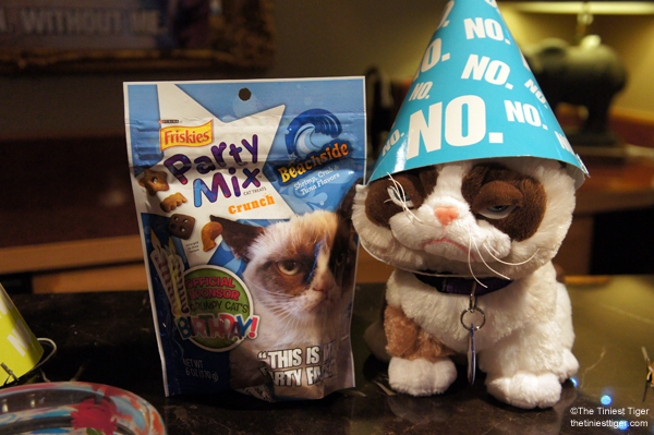 Grumpy Cat Friskies party