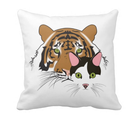 TTT Throw Pillow