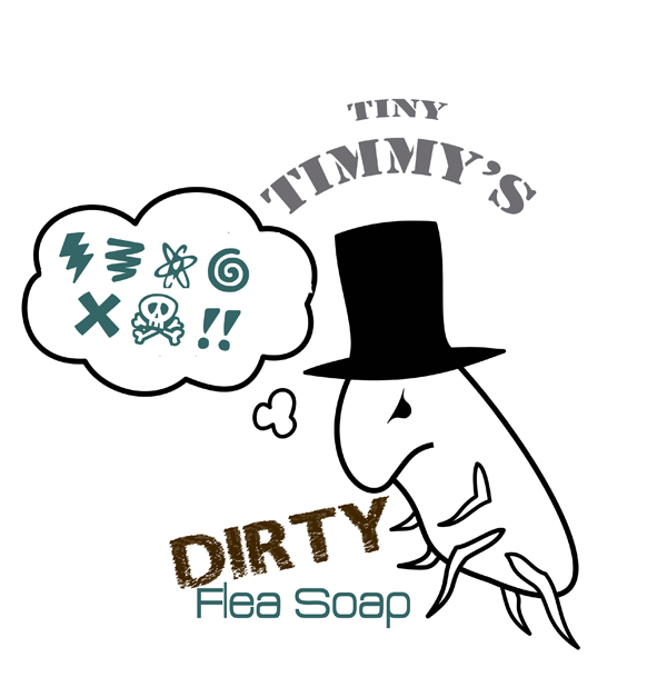 Tiny Timmy's Dirty Flea Soap