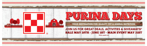 Purina Days at Tractor Supply Co