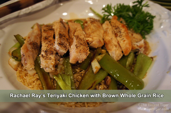 Rachael Ray's Teriyaki Chicken
