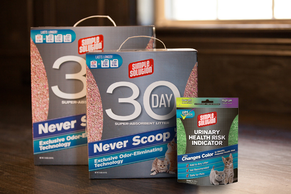 Simple Solutions 30 day litter with UHRI