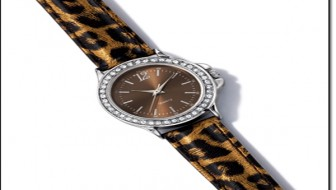 Avon Wild Side Strap Watch
