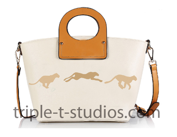 Triple T Studios Cheetah Handbag