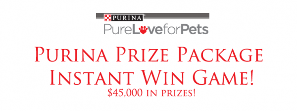 Purina Instant Prize PAckage
