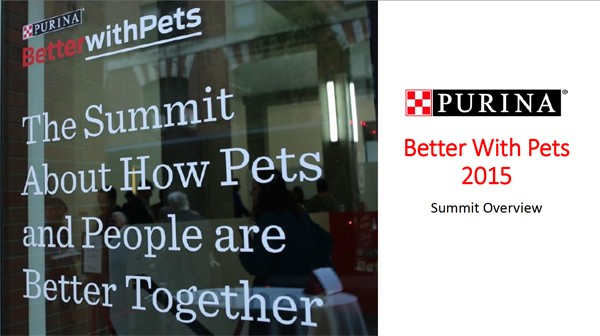 Better With Pets Summit