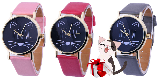 Cat's Meow Watch from Triple T Studios