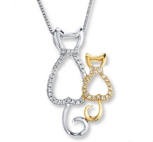 Happy Together Cat Necklace