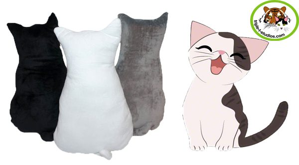 Cat Pillow Triple T Studios