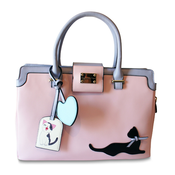 Pretty in Pink Cat Handbag