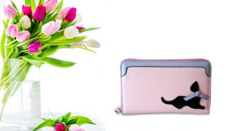 Pretty in Pink Cat Wallet Giveaway