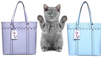 Cat Paw Lace Tote Giveaway