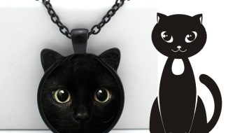 Triple T Studios Black Cat Necklace Giveaway
