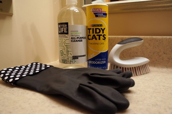 TidyCats Cleaning tools