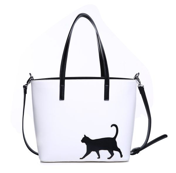 cat walk tote with strap