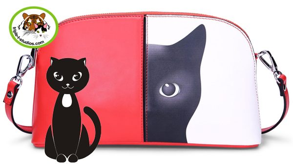 MErcy Black Cat Shoulder Bag