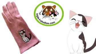 Sneak Peek!  Cute Cat Gloves Will Warm Your Hands and Heart!
