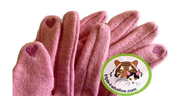 Cute Cat Gloves Triple T Studios