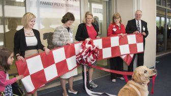 Purina Family Pet Center in St. Louis Children's Hospital #LetsLiveBig