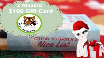Two $100 Triple T Studios Gift Card Giveaway