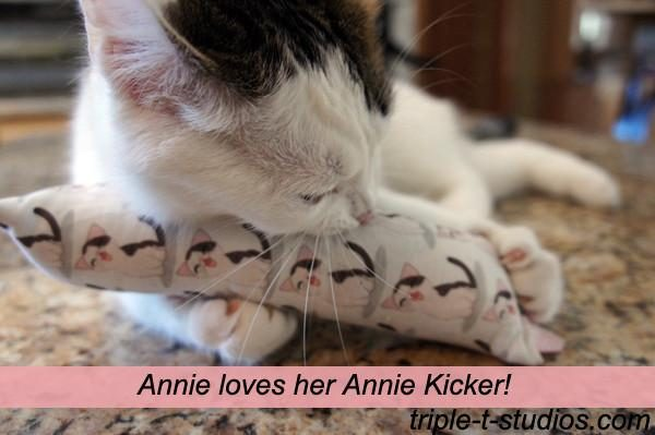 Annie with Annie Kicker