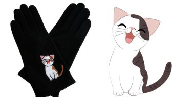 Sweet Annie Cat Wool Gloves Giveaway