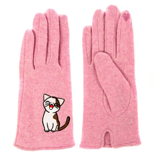 Sweet Annie Pink cat Glove