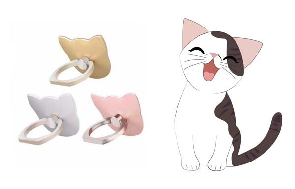 Cat Phone Ring Kickstands