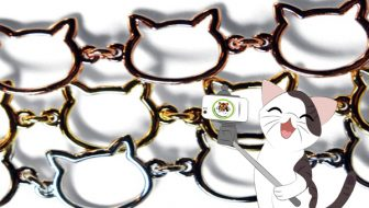 NEW! Cat Chain Link Bracelet Giveaway