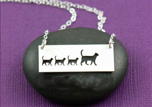 Triple T Studios Cat Walk Necklace