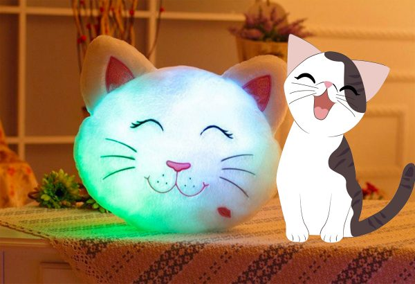 Cat Pillow Light Triple T Studios